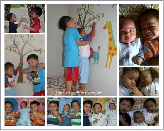 Dafi, Keenan, Ibnu... Love these three