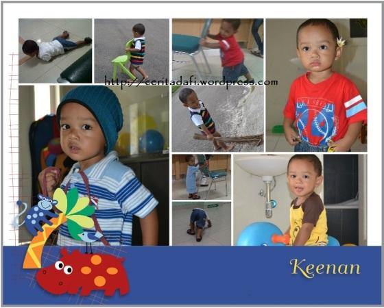 Keenan, yang berani tapi penuh kasih sayang..