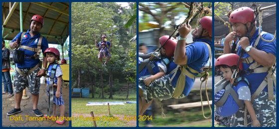 Dafi naik Flying Fox