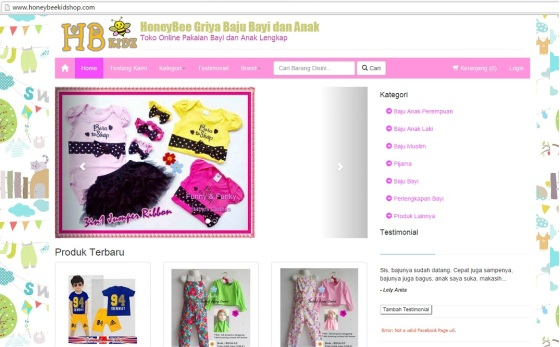 Website HoneyBee